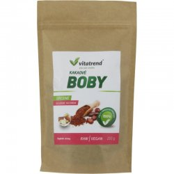Kakaové boby Vitatrend slazené jakonem