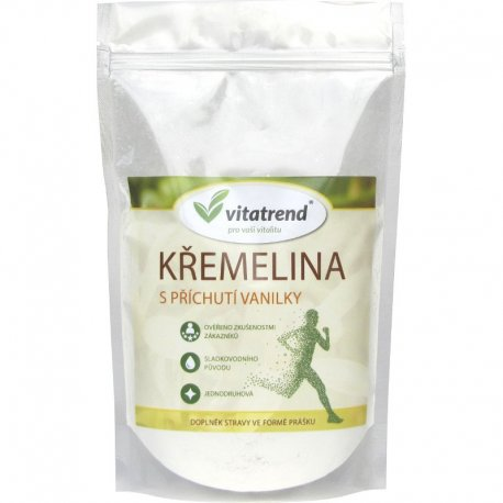 Křemelina Vitatrend 250g s příchutí vanilky