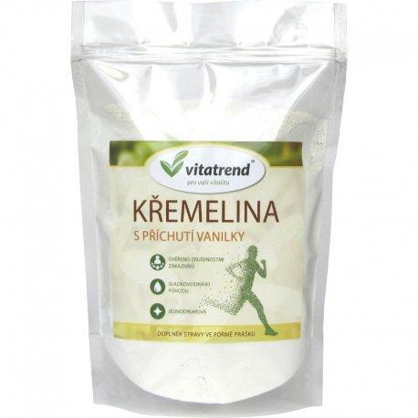 Křemelina Vitatrend 500g s příchutí vanilky